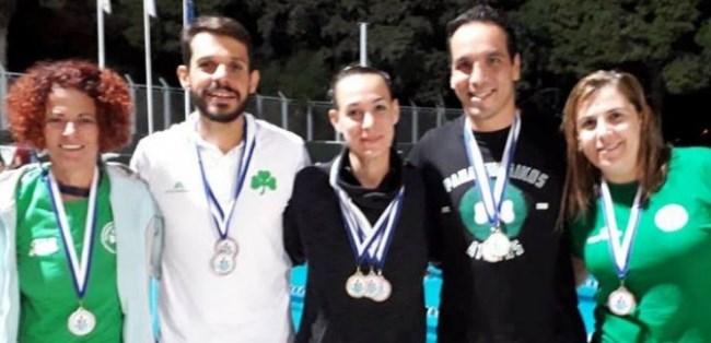 Κολύμβηση: Σάρωσαν τα μετάλλια στην Κύπρο   panathinaikos24.gr