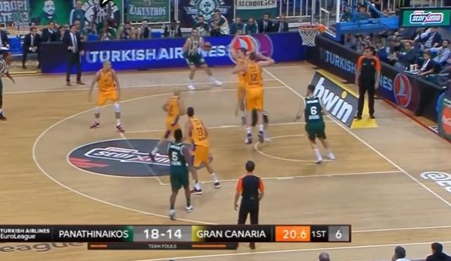 Φοβερό βίντεο: Το πλάνο βγαίνει και ο Πασκουάλ… πανηγυρίζει πριν μπει καλάθι! (vid) | panathinaikos24.gr