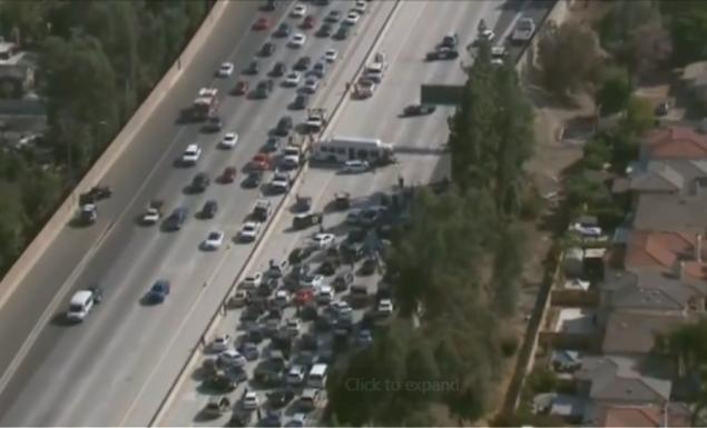 Χάος σε αυτοκινητόδρομο – Τροχαίο με 25 τραυματίες (BINTEO) | panathinaikos24.gr