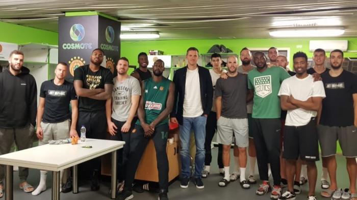 Γκιστ: «Μέσω της ELPA οι παίκτες έχουν φωνή» (vid) | panathinaikos24.gr