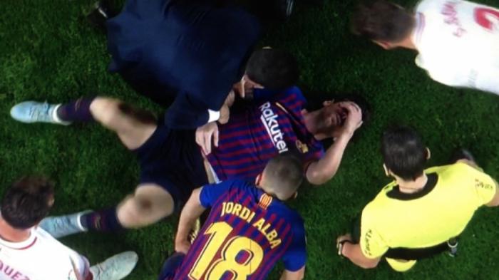 Ανατριχιαστικός τραυματισμός του Μέσι (Vid) | panathinaikos24.gr