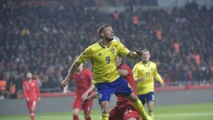 Σπουδαίο «διπλό» της Σουηδίας στην Τουρκία δια… ποδός Μπεργκ!