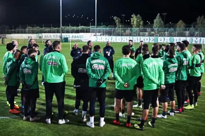 PAO TV: Η προετοιμασία για Ολυμπιακό (vid) | panathinaikos24.gr