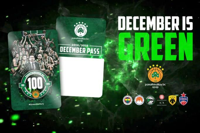 December is Green! (vid) | panathinaikos24.gr