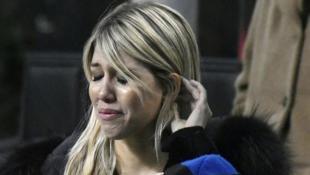 Kλάμα με μαύρο δάκρυ η κυρία Ικάρντι για τον αποκλεισμό της Ίντερ! (pics)
