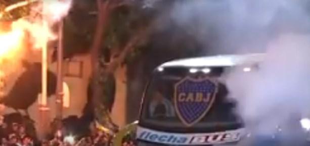 Απλά… χαμός: Ανεπανάληπτο ξεπροβόδισμα από τον λαό της Μπόκα! (vid) | panathinaikos24.gr