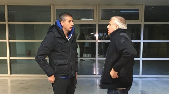 Συνάντηση «γιγάντων» στο ΟΑΚΑ με Ομπράντοβιτς – Διαμαντίδη! (pic) | panathinaikos24.gr