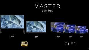 Αυτές είναι οι νέες 4K και 8K τηλεοράσεις της Sony