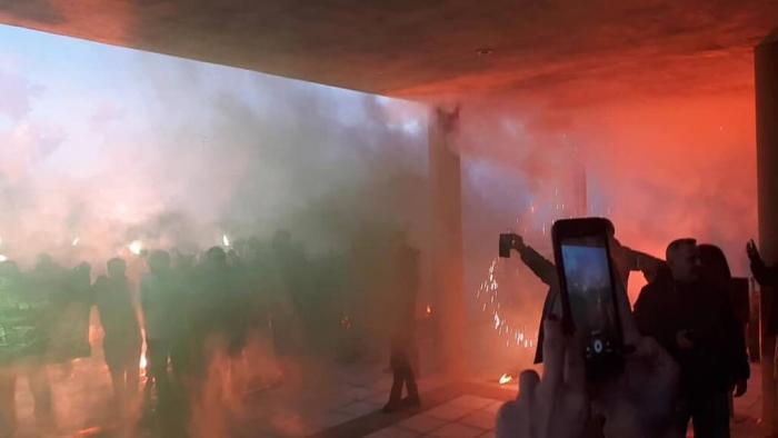 Φοβερή υποδοχή στη Λήμνο για τον Παναθηναϊκό! (pics) | panathinaikos24.gr