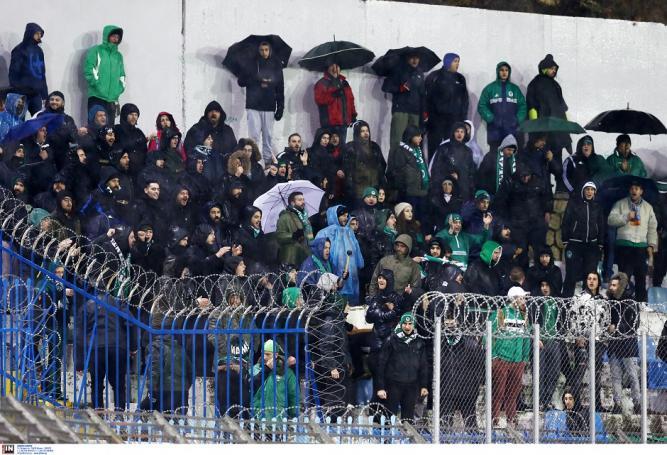 Στο πλευρό του ο κόσμος παρά την καταρρακτώδη βροχή | panathinaikos24.gr