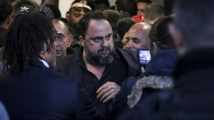 Επεισόδιο Μαρινάκη με αστυνομικό! (vid) | panathinaikos24.gr