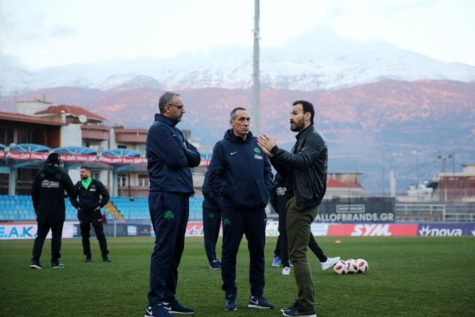Θερμό επεισόδιο οπαδών του ΠΑΣ Γιάννινα με Νταμπίζα και Σαραβάκο | panathinaikos24.gr