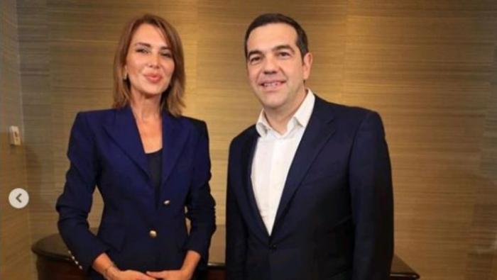 H εντυπωσιακή κοκκινομάλλα που πήρε συνέντευξη από τον Τσίπρα (pics) | panathinaikos24.gr