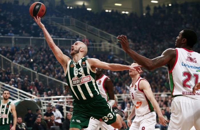 Απίστευτη πάσα από τον Νικ Καλάθη! (vid)   panathinaikos24.gr