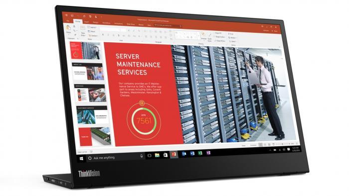 H Lenovo παρουσίασε νέο φορητό monitor | panathinaikos24.gr