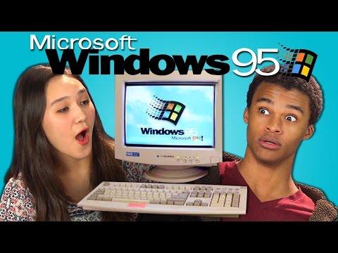 Teenagers παθαίνουν πολιτισμικό σοκ δουλεύοντας σε Windows 95 | panathinaikos24.gr