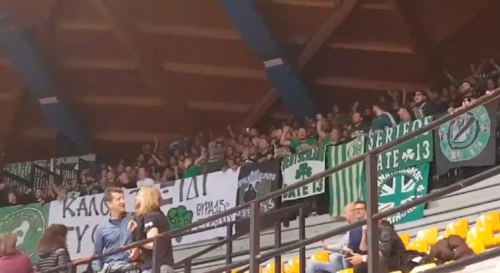 «Είμαστε από τη Λεωφόρο» στο Μιλάνο (vid) | panathinaikos24.gr