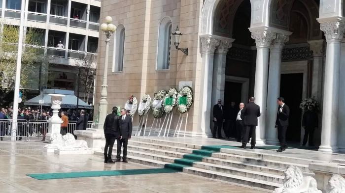 Στο «αντίο» για τον Θανάση ο Δημήτρης Διαμαντίδης (vid) | panathinaikos24.gr