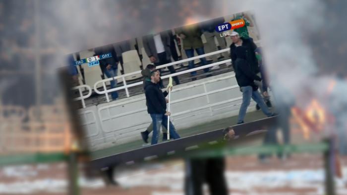 Ξαναχτύπησε: Πού πήγε ο οπαδός με τη σημαία μετά το ΟΑΚΑ (Pics) | panathinaikos24.gr
