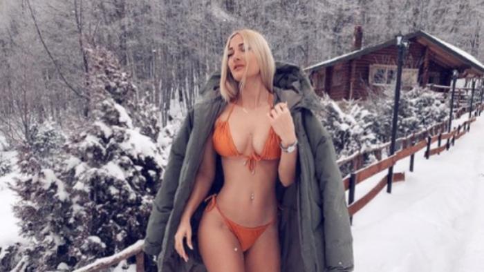 Κόλαση! Η Ιωάννα Τούνη τα πέταξε όλα στο χιόνι (pics)   panathinaikos24.gr