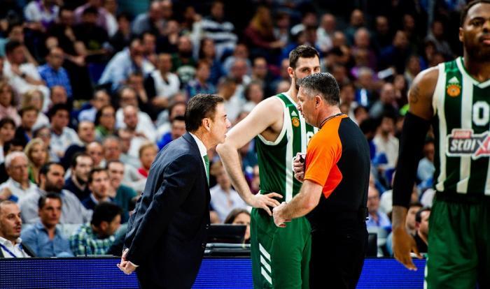 Οι διαιτητές του Game 2 στη Μαδρίτη | panathinaikos24.gr