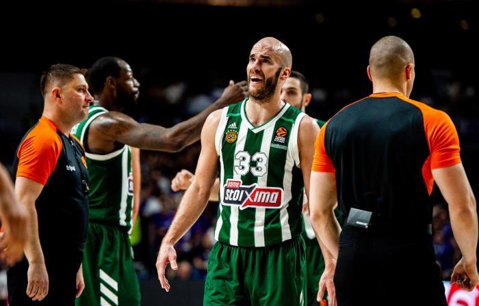Το κεφάλι ψηλά και πάμε για το break | panathinaikos24.gr