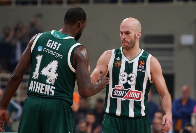 Καλάθης και Γκιστ στο τελευταίο Top 10 της regular season! (vid) | panathinaikos24.gr