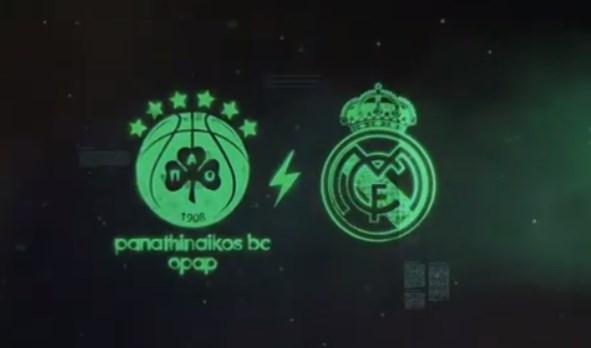Εντυπωσιακό promo για το αποψινό ματς με τη Ρεάλ! (vid) | panathinaikos24.gr
