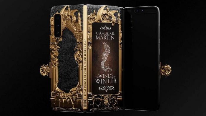 Αυτή είναι η Game of Thrones έκδοση του Samsung Galaxy Fold που κοστίζει 8 χιλ. δολάρια!   panathinaikos24.gr
