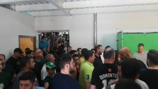 Αποθέωση για τον Δημήτρη Διαμαντίδη στην Κύπρο!