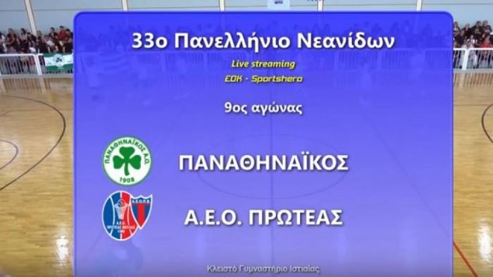 Live Streaming ο «τελικός» τίτλου Παναθηναϊκός – Πρωτέας Βούλας | panathinaikos24.gr