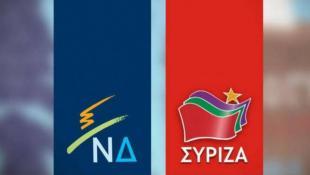 Singular Logic: Στις 9 μονάδες η διαφορά ΝΔ-ΣΥΡΙΖΑ