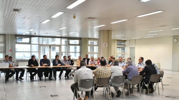 Παρών στη σύσκεψη για τα μέτρα ασφαλείας του ντέρμπι αιωνίων ο Ολυμπιακός (pics) | panathinaikos24.gr