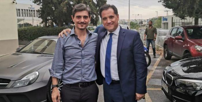 Ο Άδωνις αγκαλιά με τον Γιαννακόπουλο: «Υπέρ του γηπέδου του Παναθηναϊκού μας» (pic)   panathinaikos24.gr
