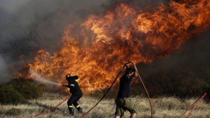 Μεγάλη πυρκαγιά στο Λαγονήσι! | panathinaikos24.gr
