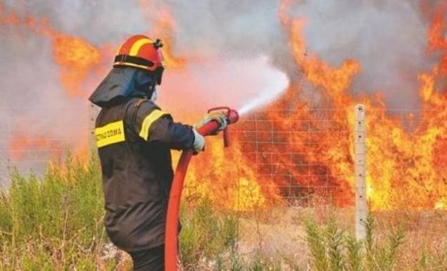 Φωτιά στο Λαύριο | panathinaikos24.gr