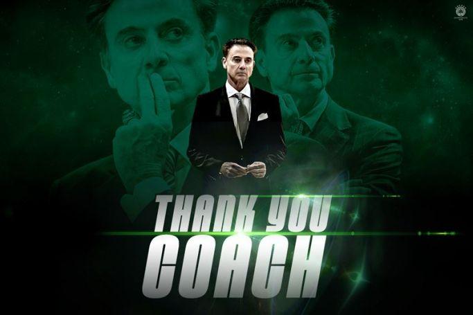 KAE Παναθηναϊκός ΟΠΑΠ για Πιτίνο: «Σ΄ ευχαριστούμε γι΄ όλα coach» | panathinaikos24.gr