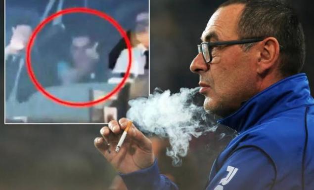 Πριν από ένα χρόνο ο Σάρι ύψωνε το μεσαίο δάχτυλο στους οπαδούς της Γιουβέντους! (vid) | panathinaikos24.gr