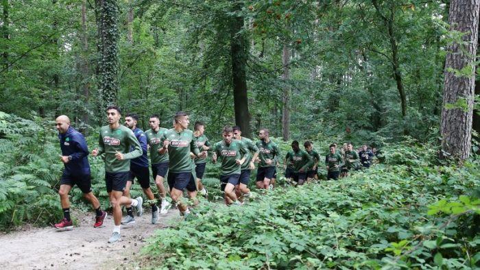 Παναθηναϊκός: Πλάνα από το τρέξιμο στο δάσος (Vid) | panathinaikos24.gr
