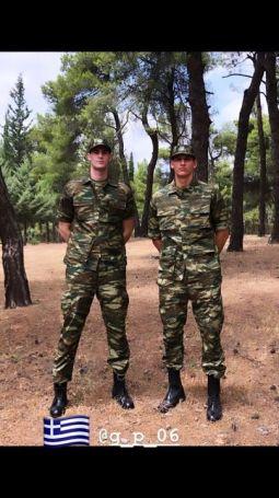 Με φόρμα παραλλαγής Μήτογλου και Παπαγιάννης  – Παρουσιάστηκαν στον στρατό! (pic) | panathinaikos24.gr