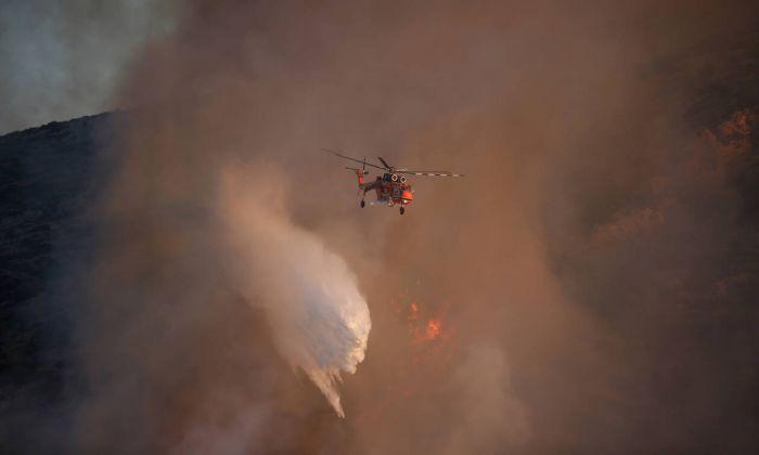 Φωτιά ΤΩΡΑ: Νέα πυρκαγιά στο Μαρκόπουλο! | panathinaikos24.gr