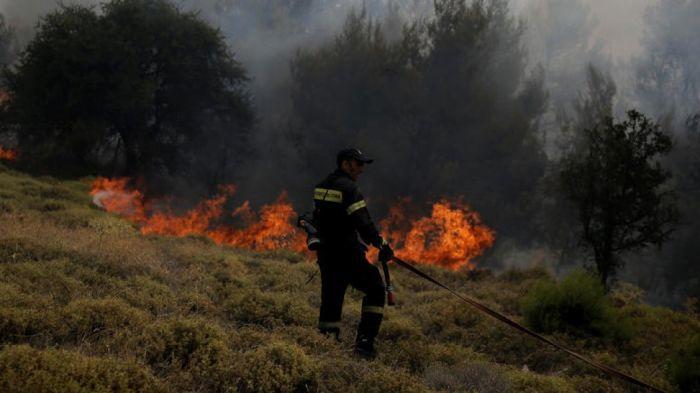 Φωτιά στη Λευκάδα! | panathinaikos24.gr