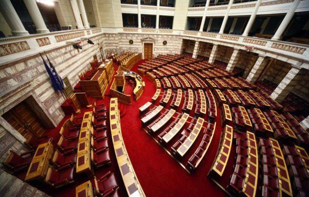 «Κοράκιασαν» στη Βουλή | panathinaikos24.gr