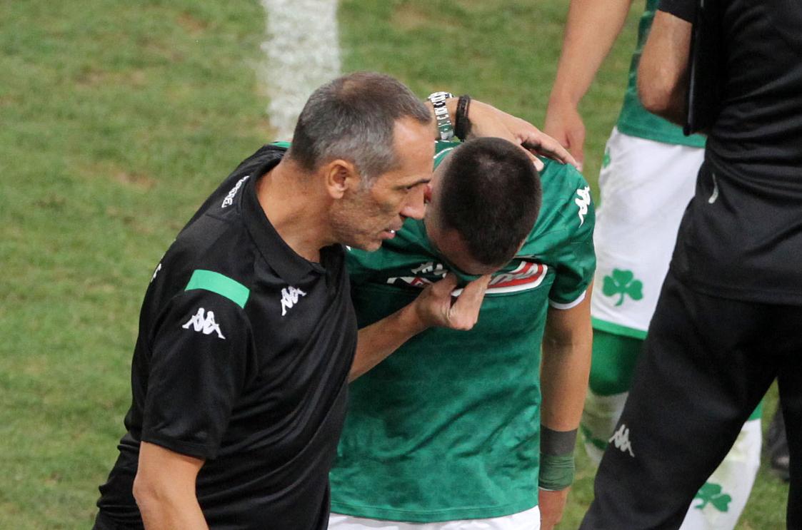 """Οι αντιδράσεις των """"πρασίνων"""" μετά τη λήξη του ματς στο ΟΑΚΑ (pics)"""
