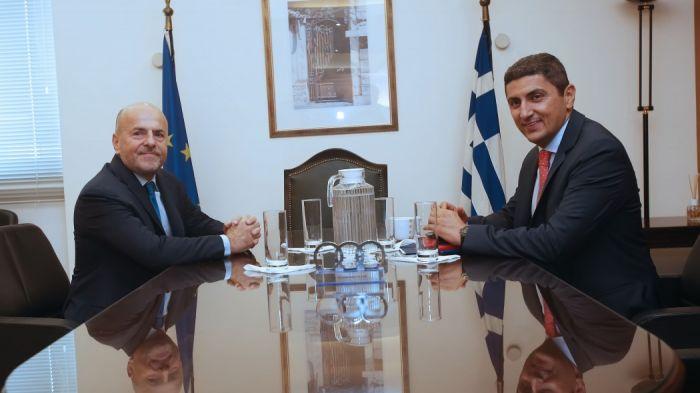 Αυτά ειπώθηκαν στη συνάντηση Αυγενάκη – Αλαφούζου! | panathinaikos24.gr