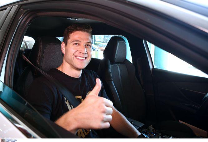 Το χαμόγελο του «πράσινου» Φριντέτ (pic) | panathinaikos24.gr