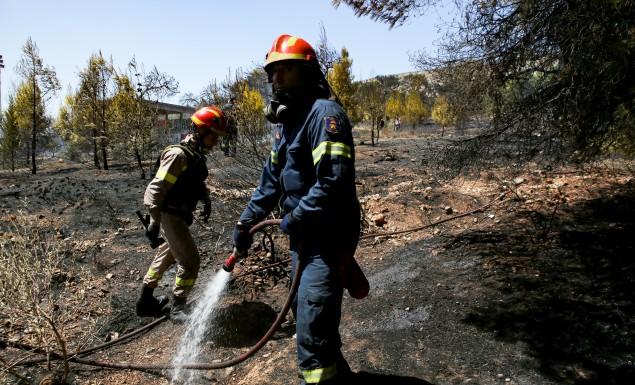 Φωτιά στον Ασπρόπυργο: Διακοπή της κυκλοφορίας στην περιφερειακή Αιγάλεω | panathinaikos24.gr