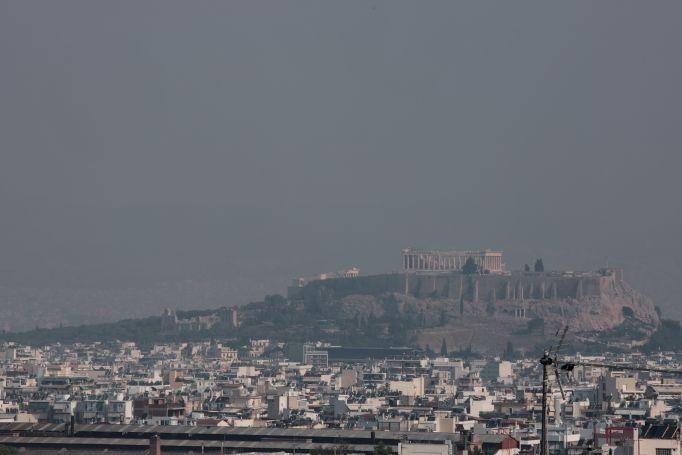 «Σκέπασαν» τον αττικό ουρανό οι καπνοί από τη φωτιά στην Εύβοια (pics) | panathinaikos24.gr