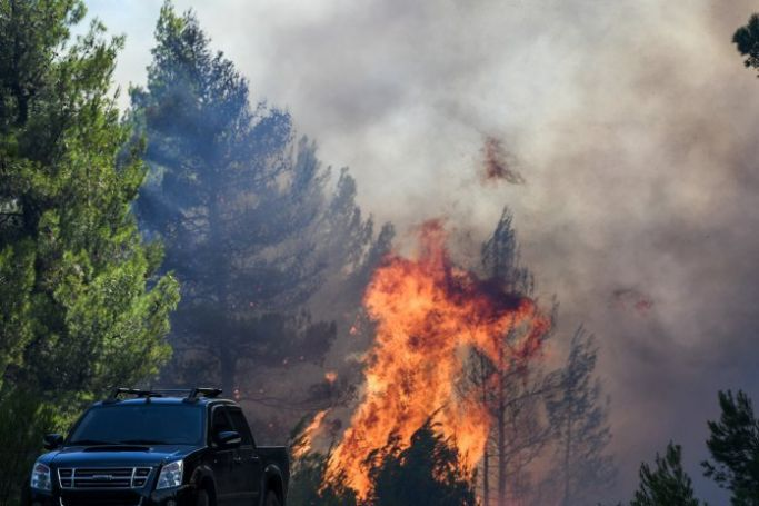 Φωτιά τώρα στην Εύβοια: Σε κατάσταση έκτακτης ανάγκης το νησί | panathinaikos24.gr