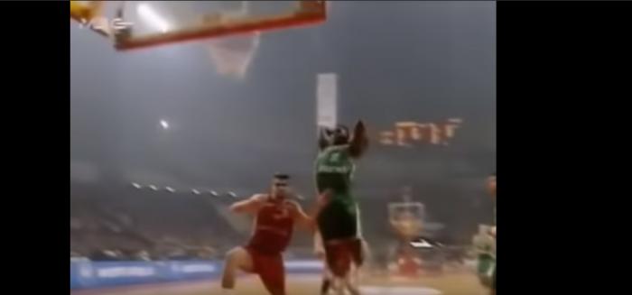 Ρετρό: Οταν ο Ντομινίκ ξεσάλωνε απέναντι στον Ολυμπιακό (VID) | panathinaikos24.gr